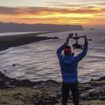 Alexander Ryden Gimbal Operator Iceland sunrise peak performance