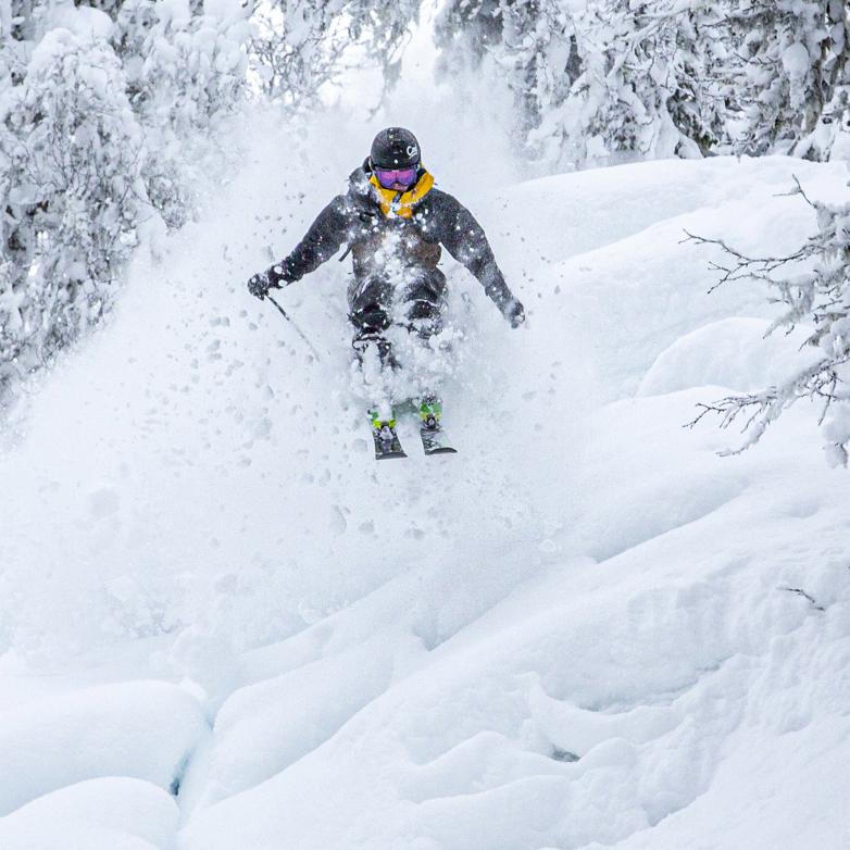 Tom-Oliver Skiing powder in Åre Sweden, Photographer, filmmaker, Alexander Ryden, Skidåkning