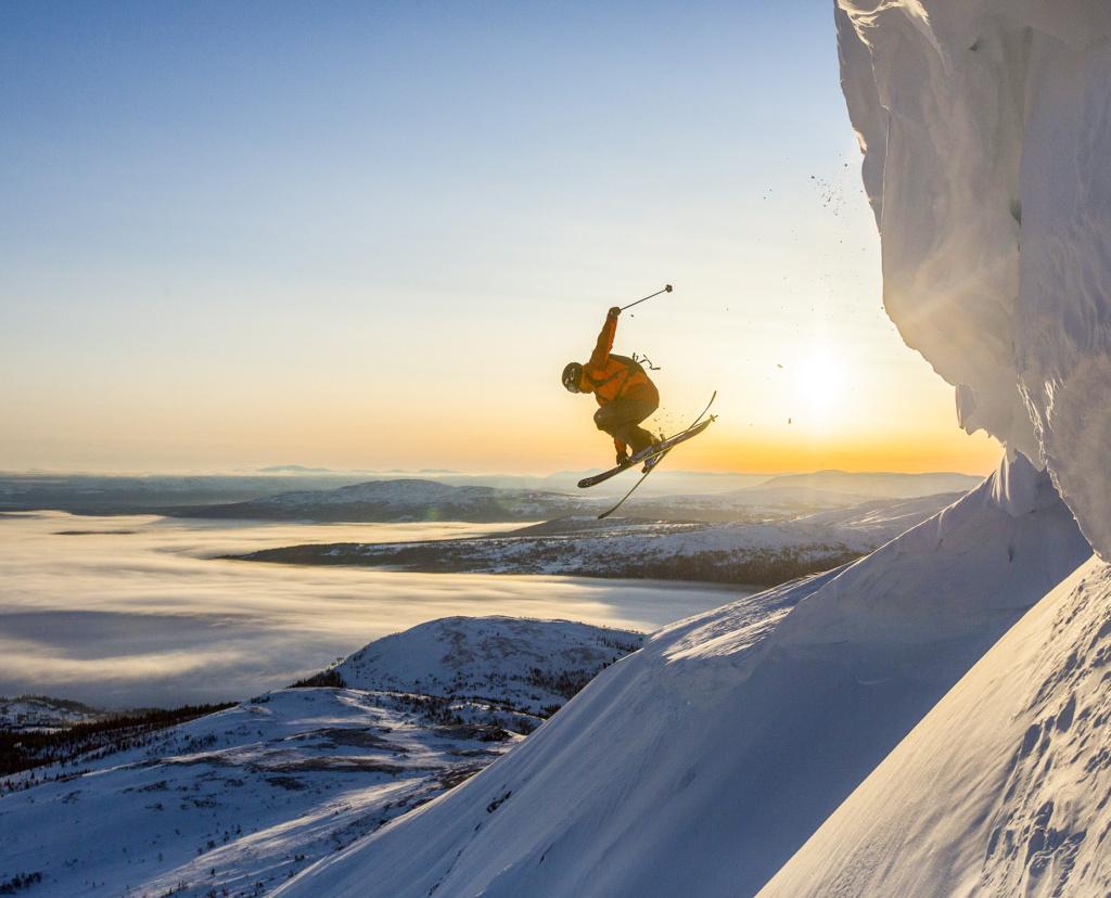 Edvin Olsson skiing Åre, Sweden, Photographer, filmmaker, Alexander Ryden, Skidåkning