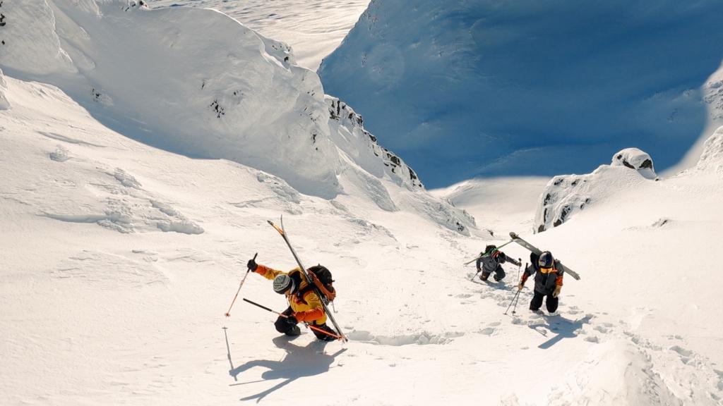 Mattias Hargin Kristoffer Turdell, Sylarna Sweden, filmmaker Alexander Ryden, Äventyr, adventure skiing,