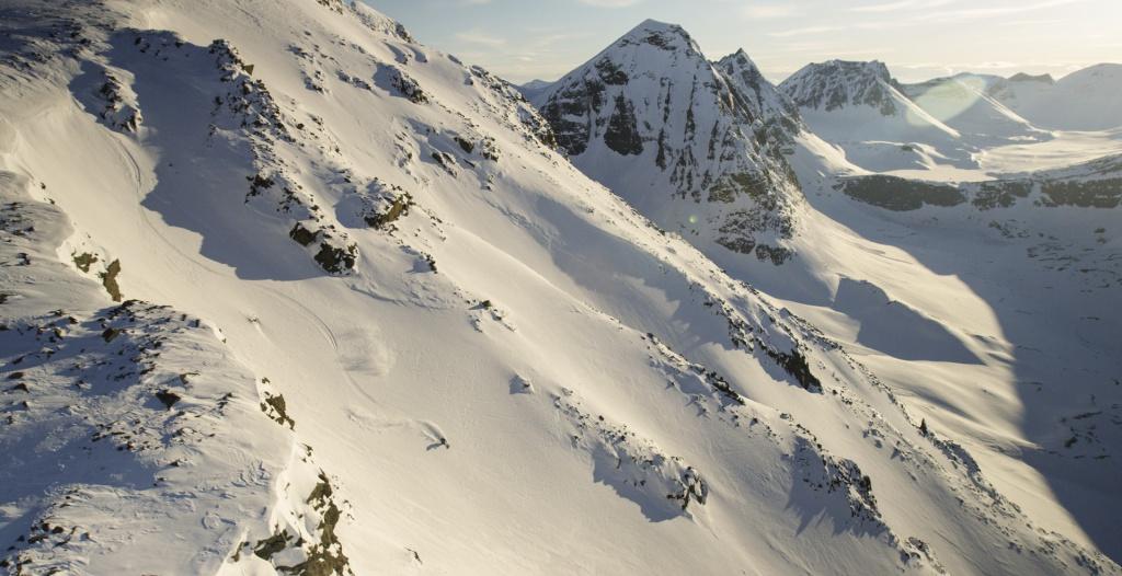 Sandra Lahnsteiner skiing in lapland, Sweden, Photographer, filmmaker, Alexander Ryden, Skidåkning