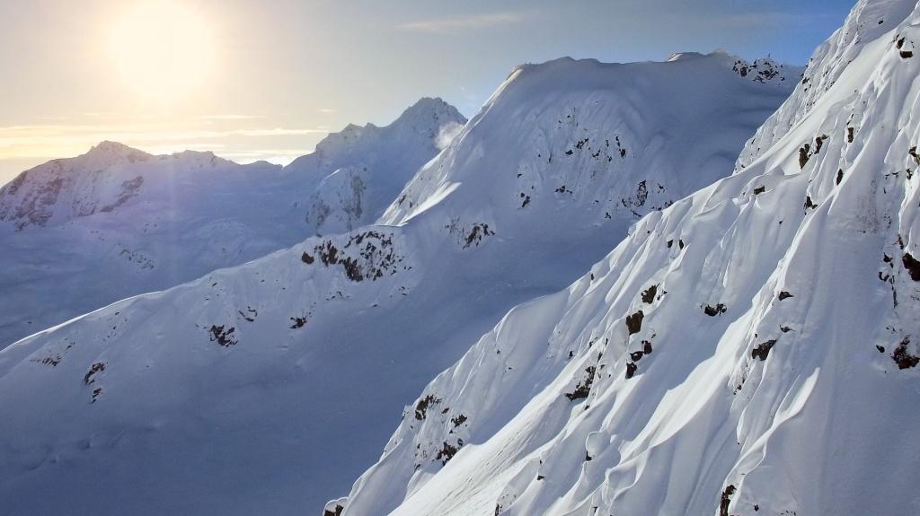 Skiing Alaska, Photographer, filmmaker, Alexander Ryden, Skidåkning
