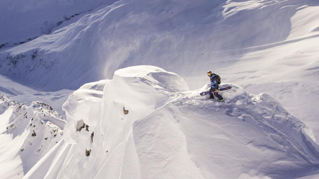 Henrik Windstedt skiing Alaska, Photographer, filmmaker, Alexander Ryden, Skidåkning