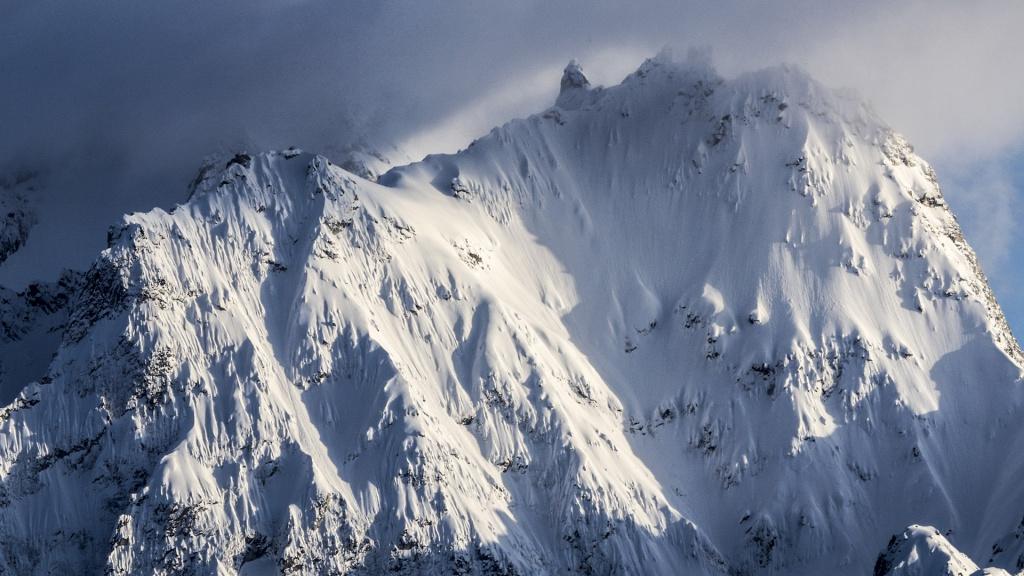high winter mountain Alaska, Photographer, filmmaker, Alexander Ryden, Skidåkning