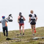 Alexander Ryden running Gimbal Operator fjällmaraton Åre