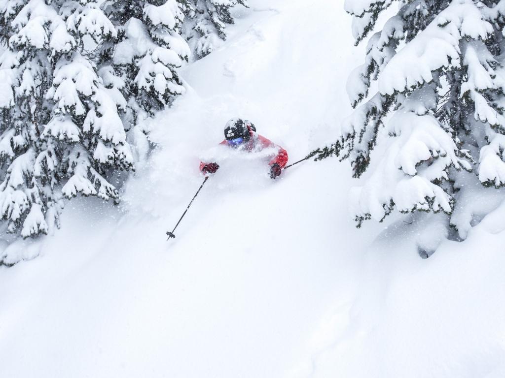 Henrik Windstedt skiing in BC Canada, Photographer, filmmaker, Alexander Ryden, Skidåkning